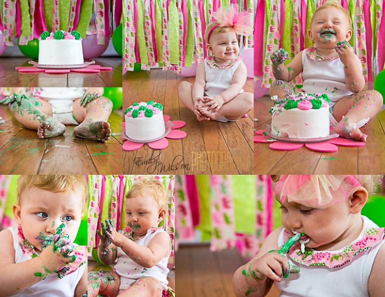Emily Wilson Photography Cake Smash
