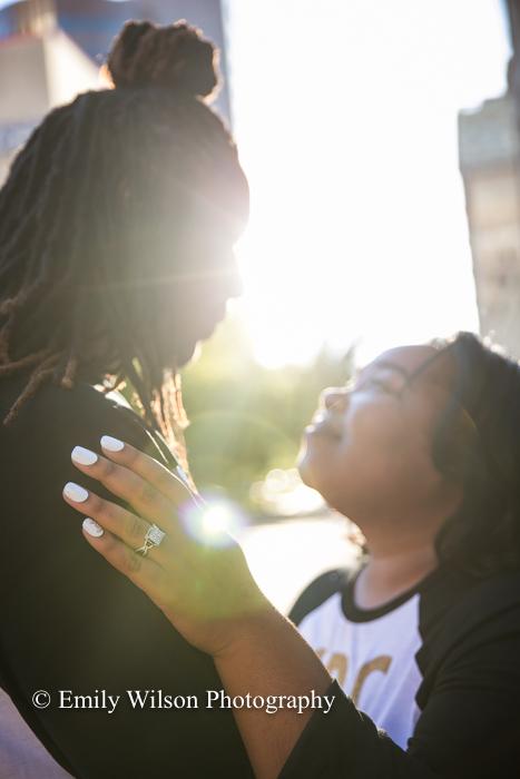Tulsa wedding engagement photographer